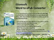 Word to ePub Converter - Convert Word to ePub  iStonsoft