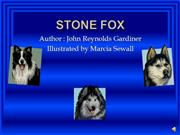 Stone Fox by Jonathan and Andrew