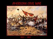 American Civil War  1861-1865