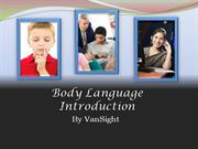 1. Body Language Introduction