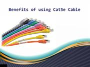 Benefits of using Cat5e cable