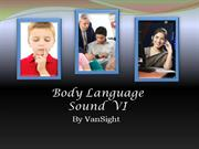 6 - Body Language Sound