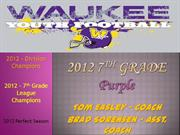 WYFB 7th Grade Purple