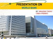 world bank,, brijesh yadav