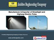 Steel Tubular Pole by Ambica Engineering Company, Ahmedabad