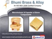 Brass and Turned Machine Components by Bhumi Brass & Alloy, Jamnagar