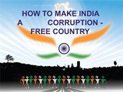 How to Make India Corruption Free