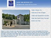 Sleep Inn Hotel in Bryson City