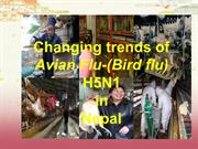 Changing trends of bird-flu in Nepal