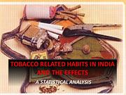 TOBACCO, HEALTH AND STATISTICS