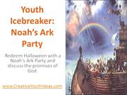 Youth Icebreaker - Noah's Ark Party
