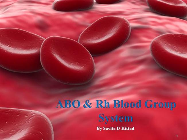 blood group ppt slides