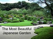 The Most Beautiful Japanese Garden