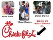 Ethics: Chick-Fil-A