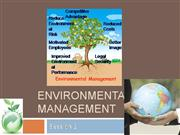 Environmental Management- Session 2