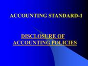 ACCOUNTING STANDARD-1