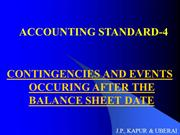 ACCOUNTING STANDARD-4