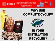 COMPLETE CYCLE PowerPoint Presentation 2012