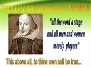 PPT on William Shakespeare