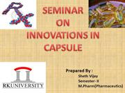 innovation in capsule-final