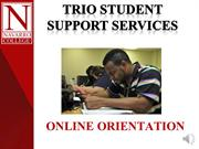 TRiO SSS Online Orientation
