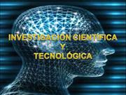 TRABAJO DE INVESTIGACION CIENTIFICA Y TECNOLOGICA