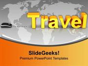 TRAVEL TRAVEL WITH COMPUTER MOUSE CONCEPT PPT TEMPLATE