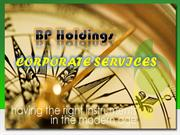 BP Holdings-Corporate Services