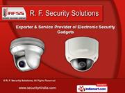 Electronic Security Gadgets by R. F. Security Solutions, Hyderabad