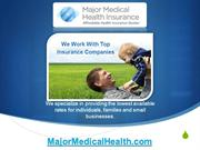 Major Medical Health Insurance Quotes