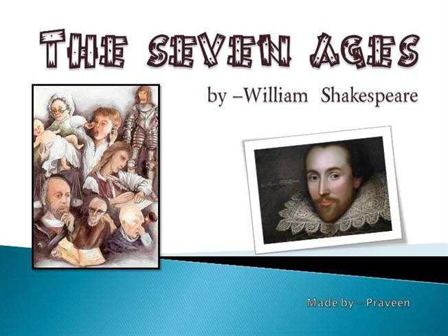 shakespeare poem seven ages