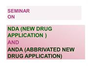 seminar topic on nda and anda
