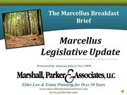 Marcellus Breakfast Brief - Case Law Update