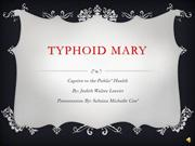 Typhoid Mary Final Parte Tres