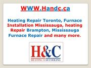 Heating Repair Toronto, Furnace Sale Mississauga