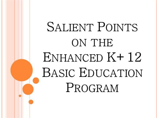 salient features of education