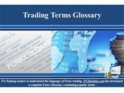 Trading Terms Glossary
