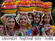 Navratri Festival 2012 - India (part1)