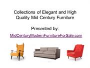 Best Online Mid Century Furniture