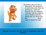 Dinosaur Train Toys - Get Your Ticket On The Dinosaur Train This Chris