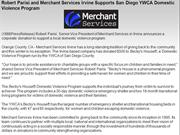 Robert Parisi and Merchant Services Irvine Supports San Diego