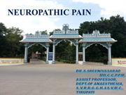 neuropathic pain-update - ssrao