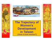 Women, Education, Taiwan and AAUW