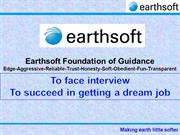 Earthsoft-To face interview and succeed in getting a dream job