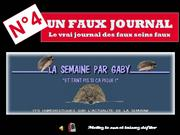 UN FAUX JOURNAL N° 4