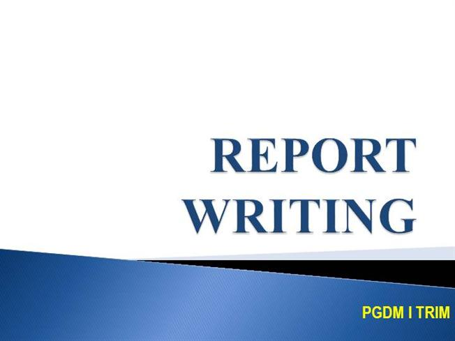 report writing in law enforcement Police officers write reports criminologists issue proposals, policy papers and  studies and forensic science technicians produce written records.