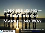Content Marketing - The New Link Building
