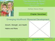 Berger Ch 17 Emerging Adulthood Biosocial narrated
