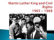 Martin Luther King and Civil Rights 1965-68