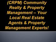 CRPM-Community-Realty-Property-Management